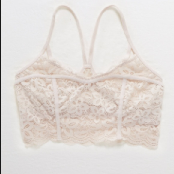 bad704aad0fe8d aerie Other - Aerie Lace Girl Power Corset
